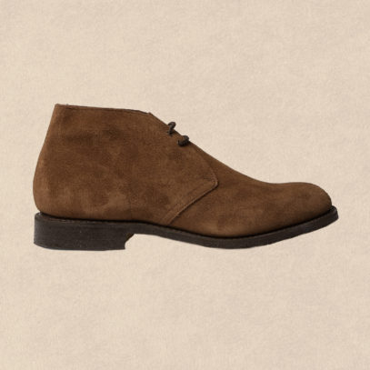 Lace up a pair of desert boots, the most reliable shoes ever made