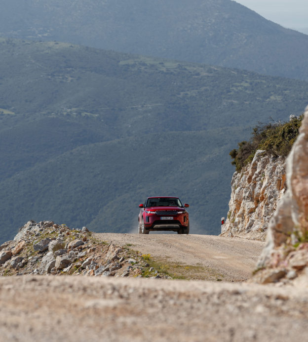 We took the new Range Rover Evoque on a Greek eco-odyssey