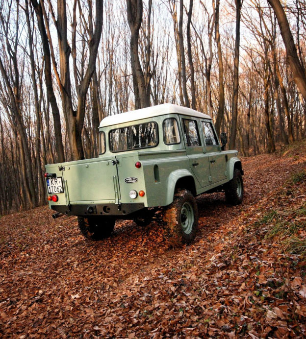 Long live the Land Rover Defender! The British icon rides again…