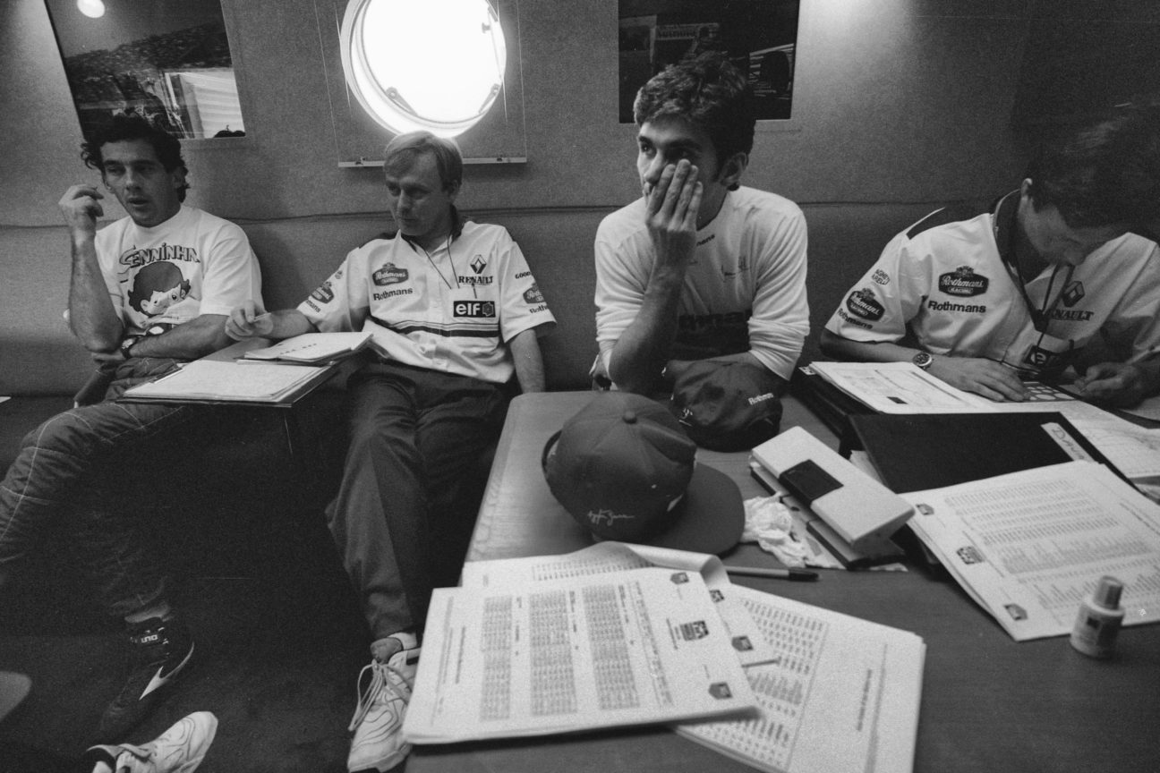 Take an exclusive look at the last ever photo of Ayrton Senna