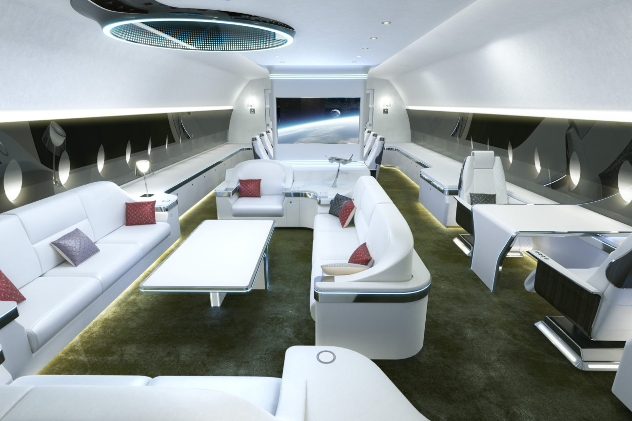 Take a look inside the most expensive private jet in the world