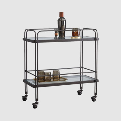 These in-office drinks trolleys will Mad Men your workspace