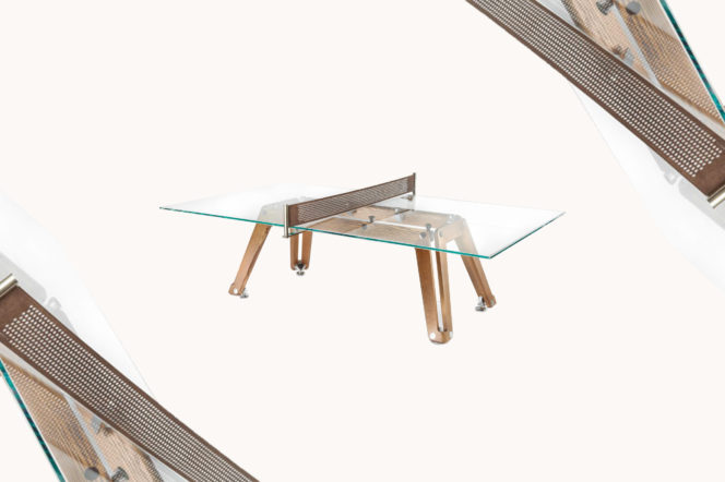 Editor's Picks: Glass-Topped Table Tennis, Coffee Roaster and Ettinger Watch Roll