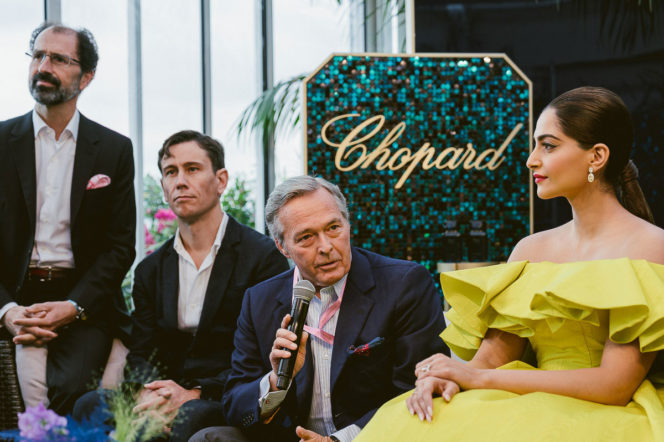 Chopard launches new Gardens of the Kings collection at Cannes