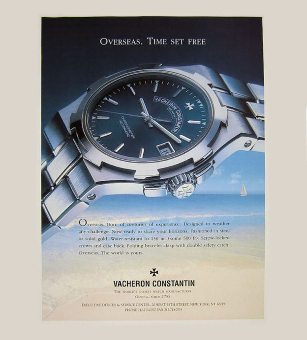 A short, storied history of the Vacheron Constantin Overseas