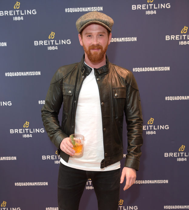 About last night: Breitling launch the SuperOcean Heritage II Ocean Conservancy