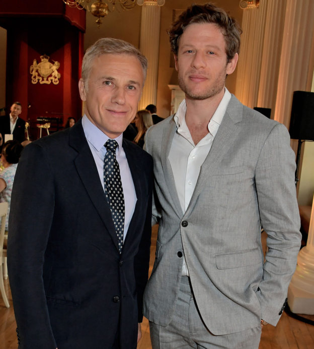 Christoph Waltz and James Norton