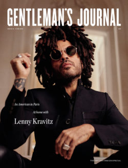 Latest Issue out now with Lenny Kravitz