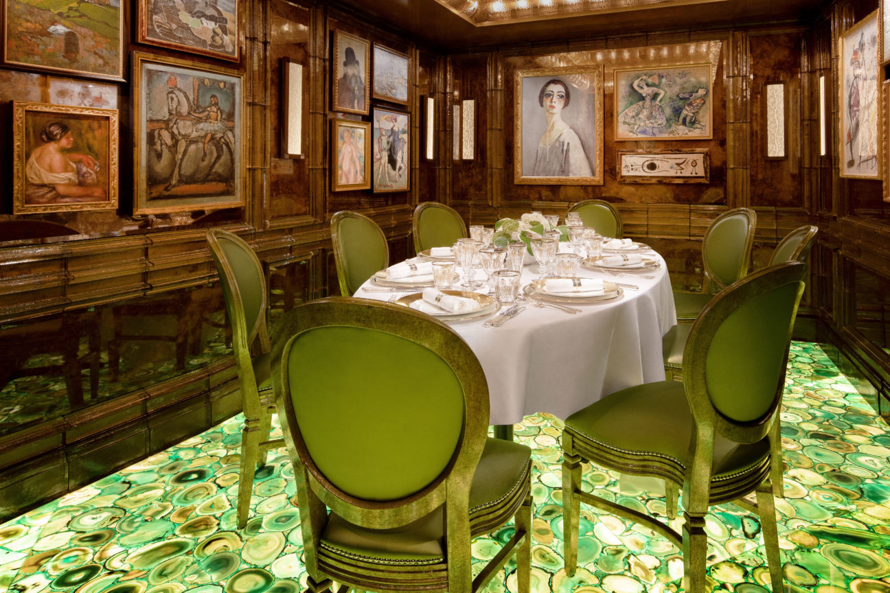 Take a look inside the world's most expensive restaurant
