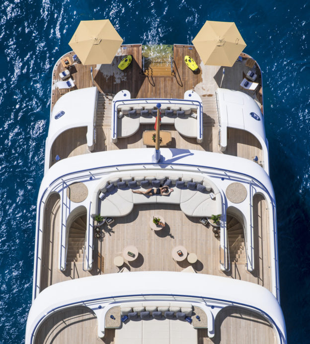 Majestic, stately and refined, ROMEA is a yacht like no other
