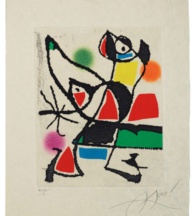 Sims Reed Gallery at Masterpiece London 2019 - Miro 946