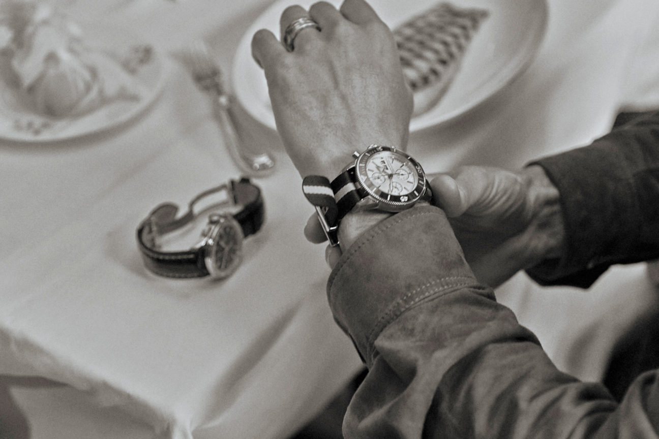 breitling lunch