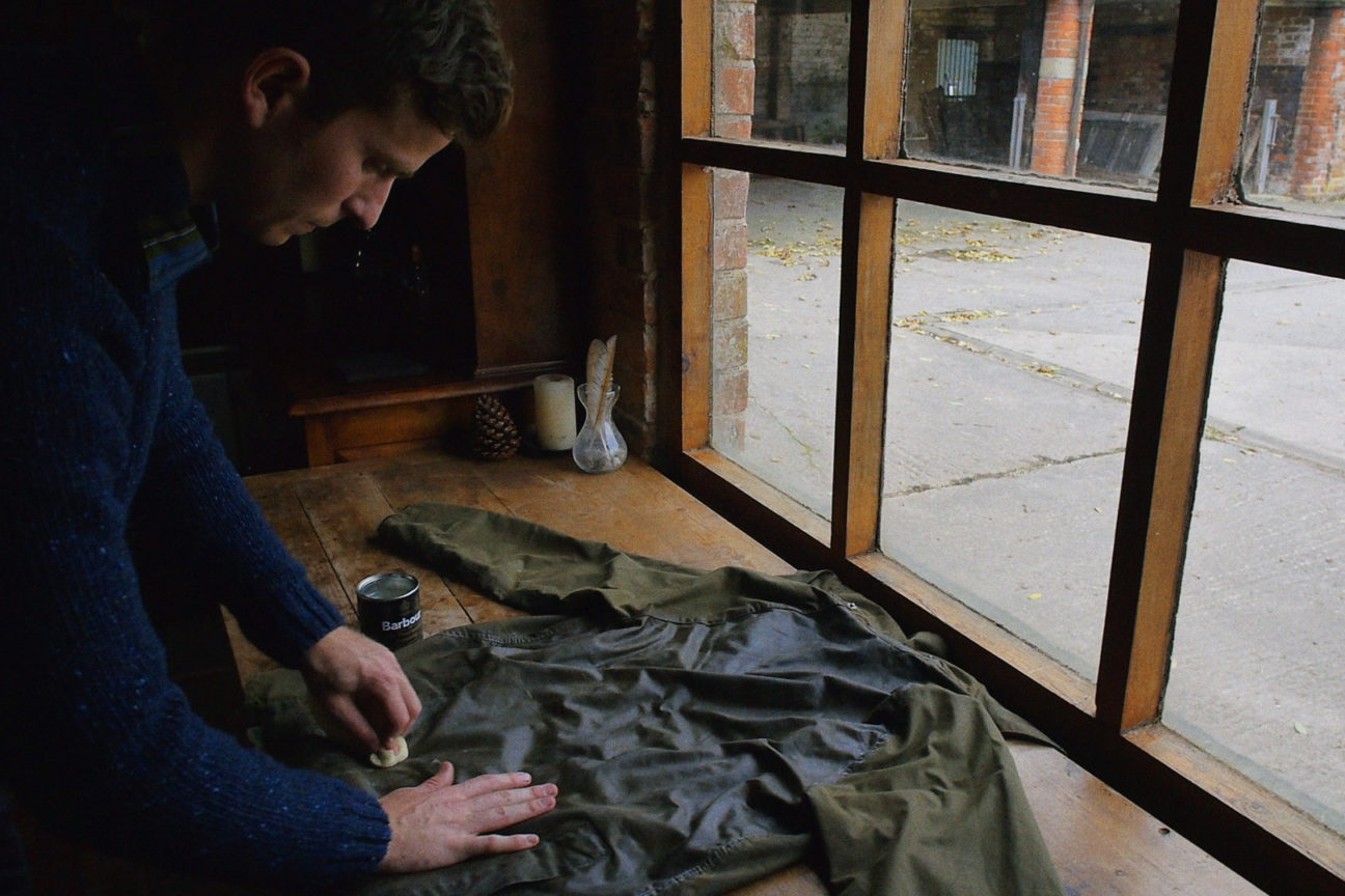 Here's why you should re-wax your Barbour jacket