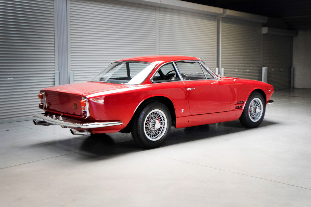 This magnificent 1964 Maserati Sebring was the car than conquered America