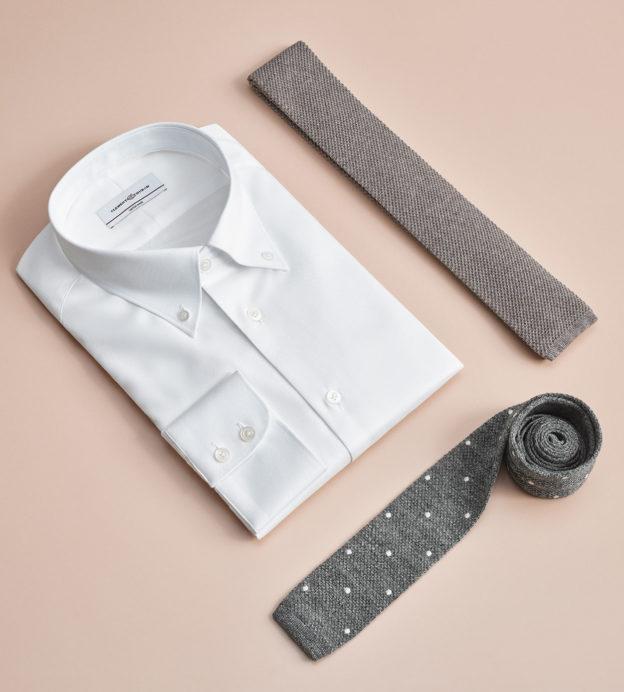 clements and church shirt and tie