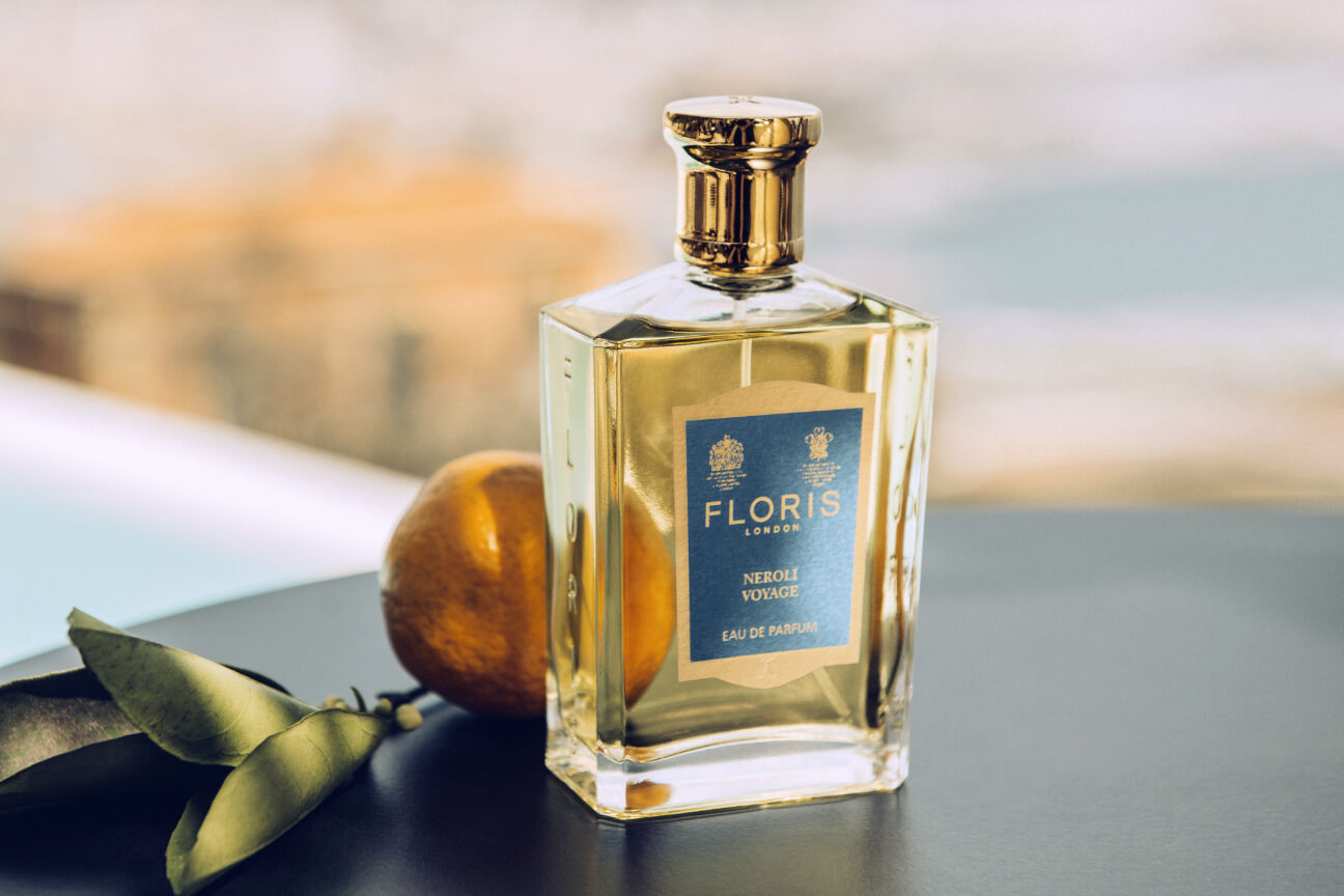 The new aftershave from Floris will sail you away to the Corsican coast