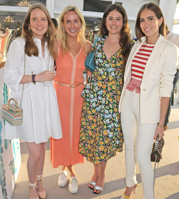 Arabella-Holland-Jemima-Cadbury-Lily-Worcester-and-Natalie-Salmon-at-The-Gentlemans-Journal-Summer-Party-at-Masterpiece-London