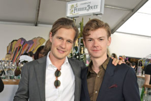 Charlie-Settrington-and-Thomas-Brodie-Sangster-at-The-Gentlemans-Journal-Summer-Party-at-Masterpiece-London