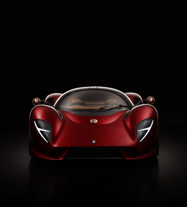 The De Tomaso P72 is a modern day time machine