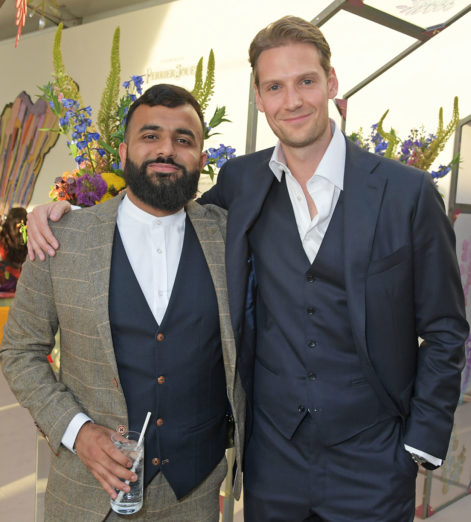 Hussain-Manawer-and-Alex-Johnson-at-The-Gentlemans-Journal-Summer-Party-at-Masterpiece-London