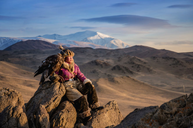 Mongolia-Eagle-Hunting