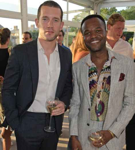 Nick-Hendrix-and-Damola-Adelaja-at-The-Gentlemans-Journal-Summer-Party-at-Masterpiece-London