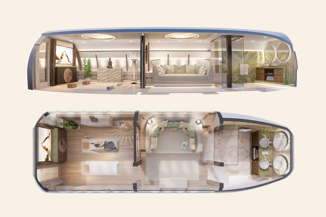 Inside the stunning private jets designed by Andrew Winch