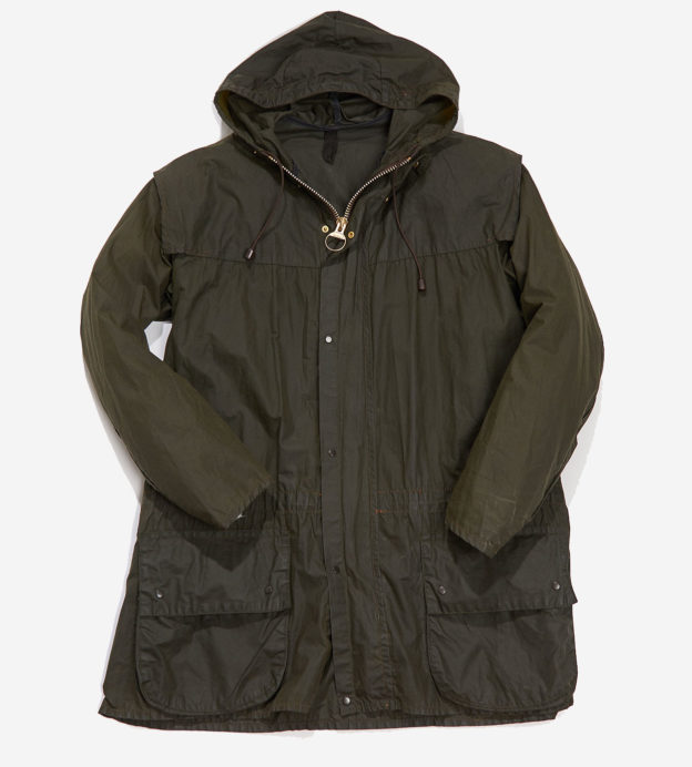 A vintage barbour Durham jacket