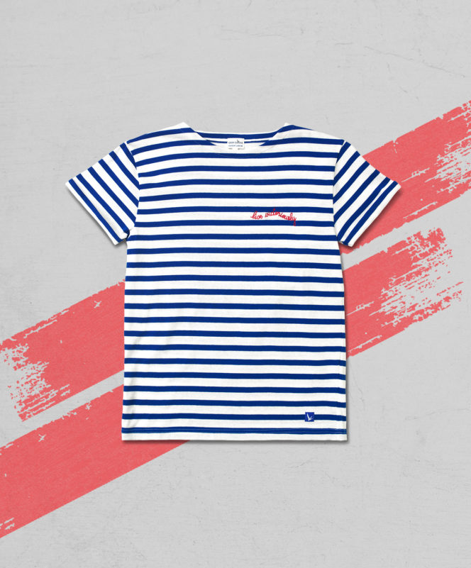 Maison Labiche 'Live Victoriously' Sailor Shirt