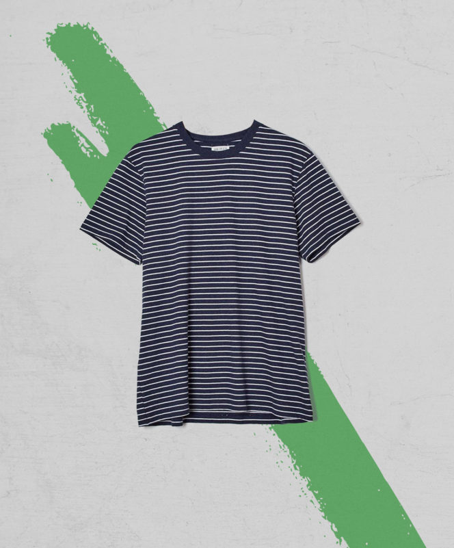 Sir Plus Navy Stripe T–Shirt