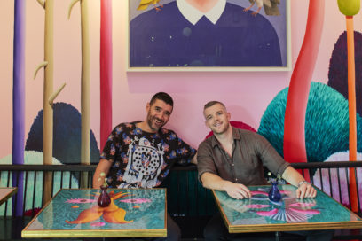 Russell Tovey and Rob Diament