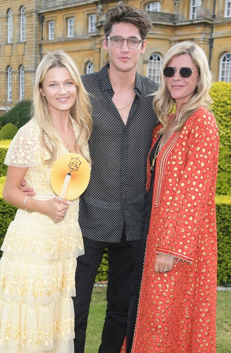 Lily Travers, Isaac Carew and Annabel Woodhams