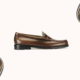G.H. Bass X Harris Tweed Loafers