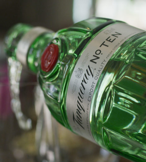 This is how you should be serving your Tanqueray No. TEN