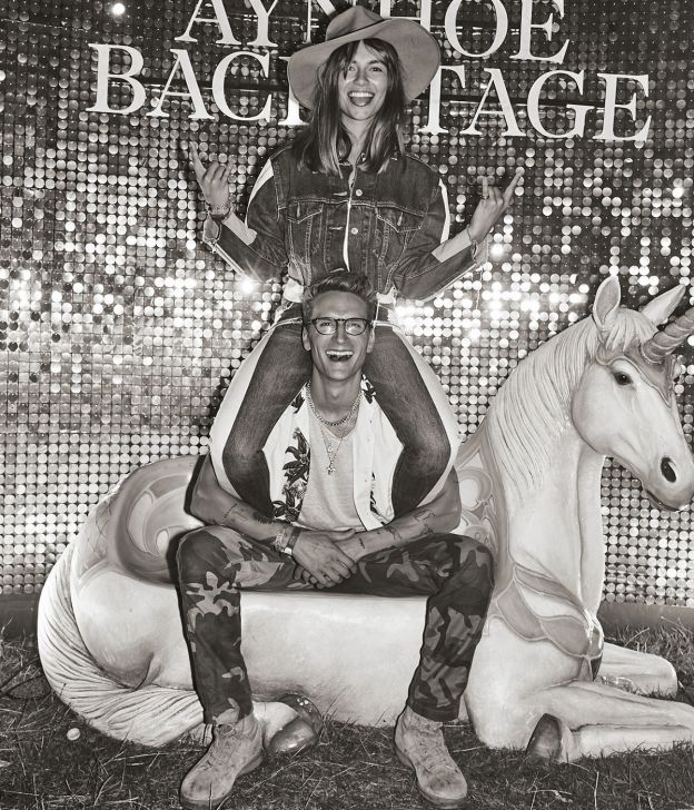 Emma Louise Connolly and Oliver Proudlock