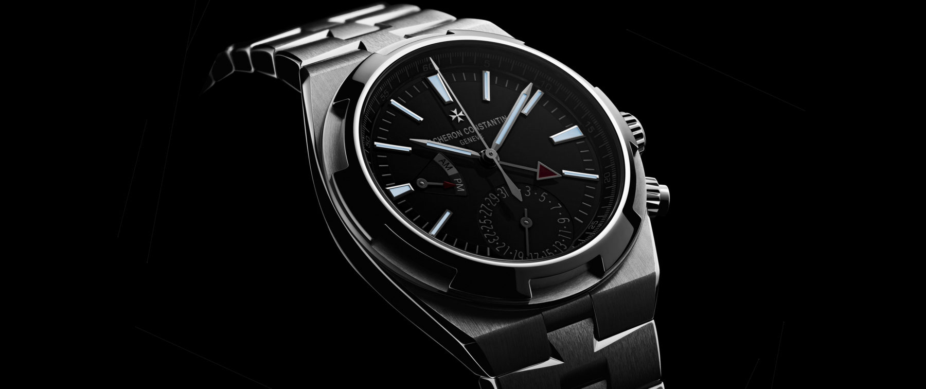 The Overseas Dual Time from Vacheron Constantin is back in black