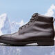 These leather boots will see you through winter in style