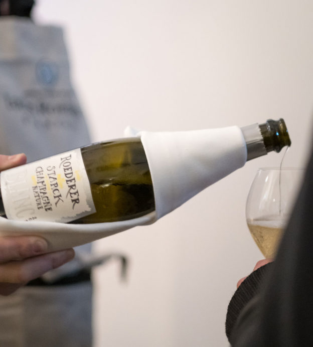 The art of champagne: The making of Louis Roederer et Philippe Starck Brut Nature 2012