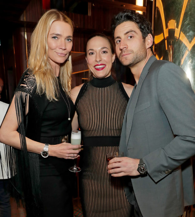 Jodie Kidd, Mary Alice Malone and Joseph Bates