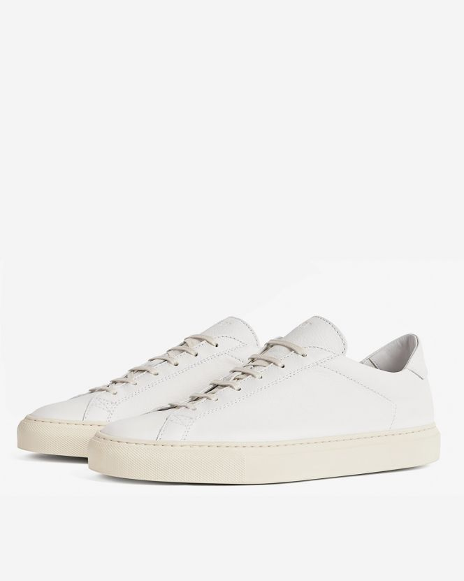 CQP Classic White Leather