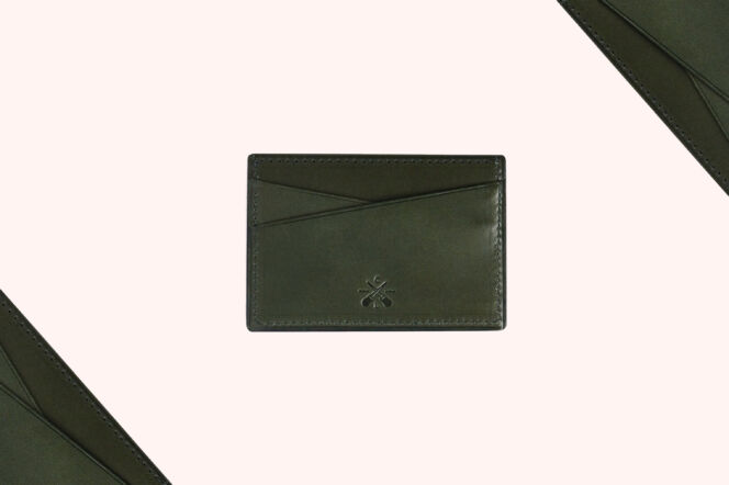 Charles Laurie Racing Green Card Case