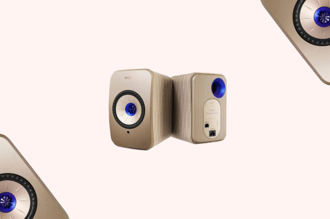 Kef LSX 'Soundwave' by Terence Conran