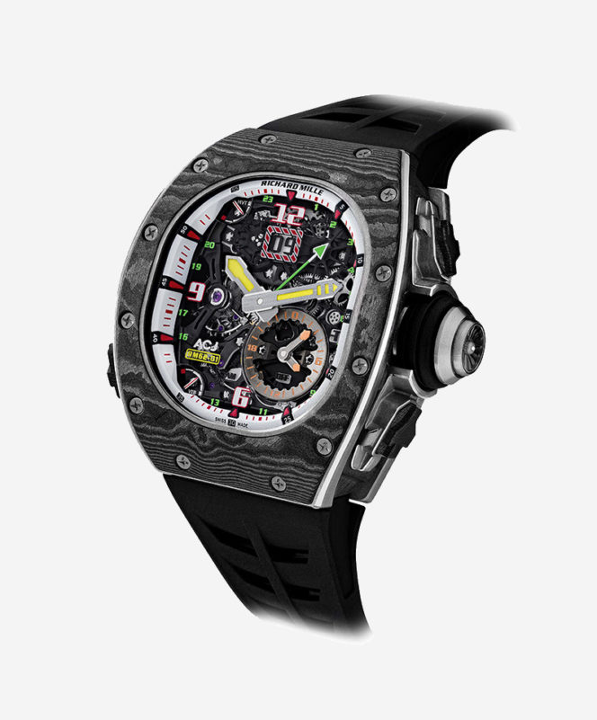 Watch of the Week: Richard Mille RM 62-01 Tourbillon Vibrating Alarm Airbus Corporate Jets