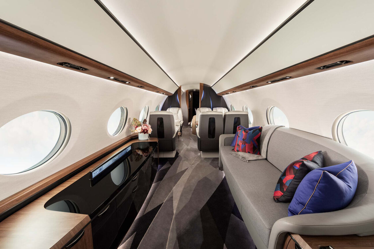 Step on board the world's largest private jet: the Gulfstream G700