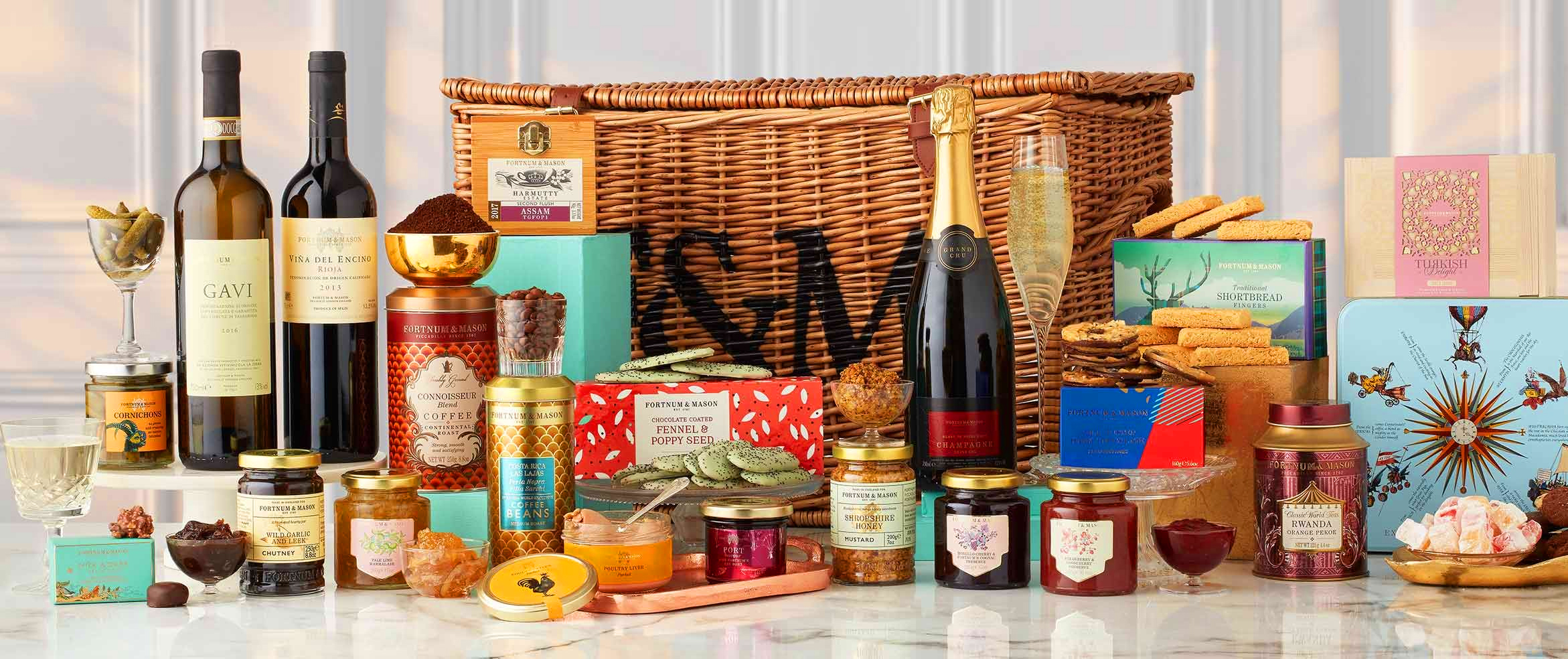 These Are The Best Luxury Hampers To Open This Christmas
