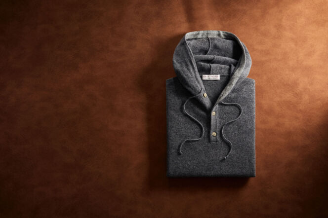 12 Days of Christmas: Win a Luca Faloni cashmere hoodie