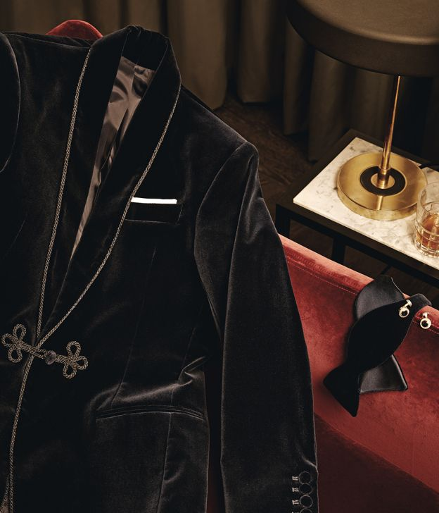 gentleman's journal best smoking jacket history fred astaire frank sinatra clark gable cary grant lounge suit