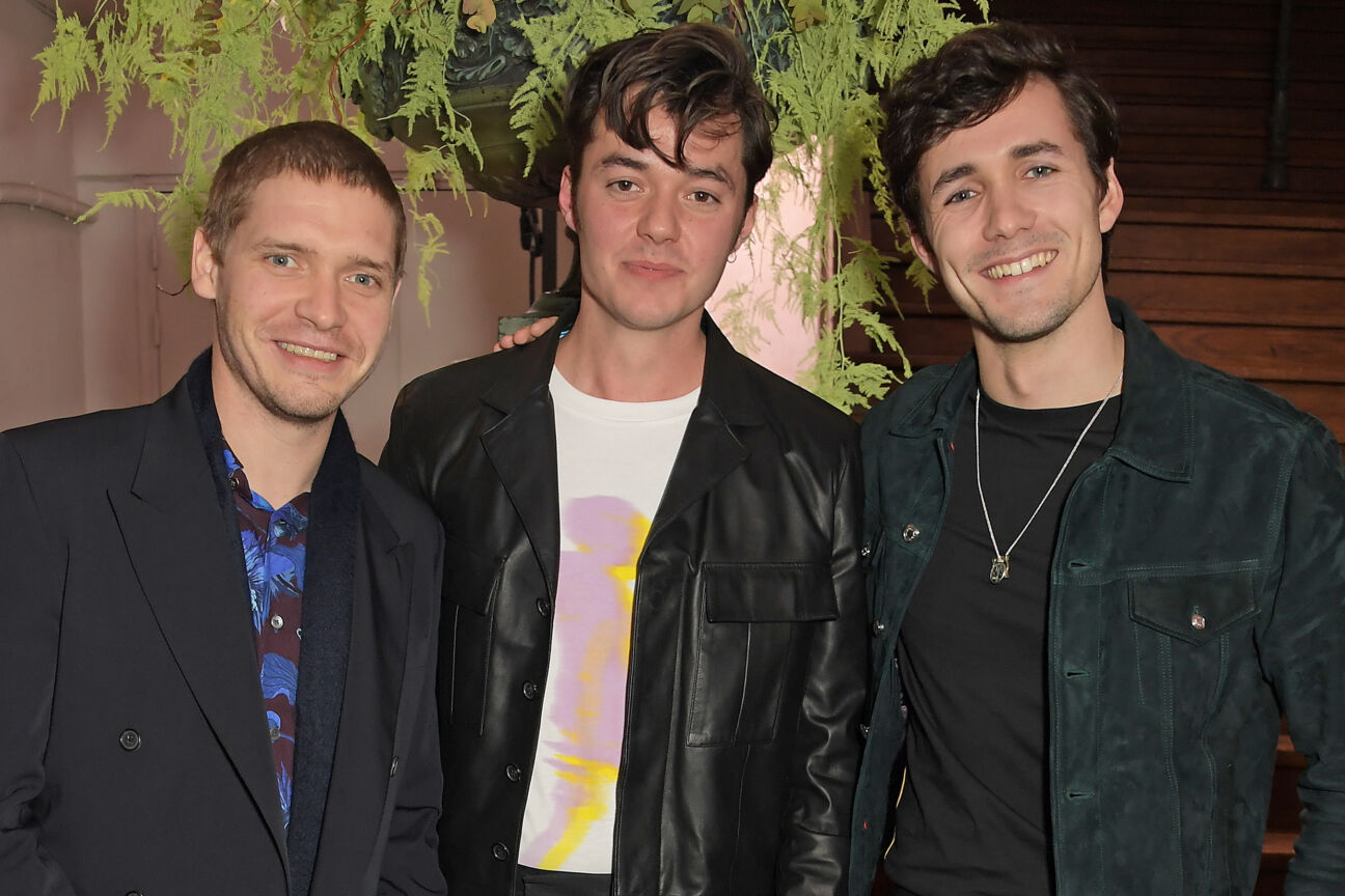 Billy Howle, Jack Bannon and Jonah Hauer-King