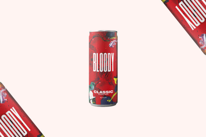 Bloody Drinks Canned Bloody Mary
