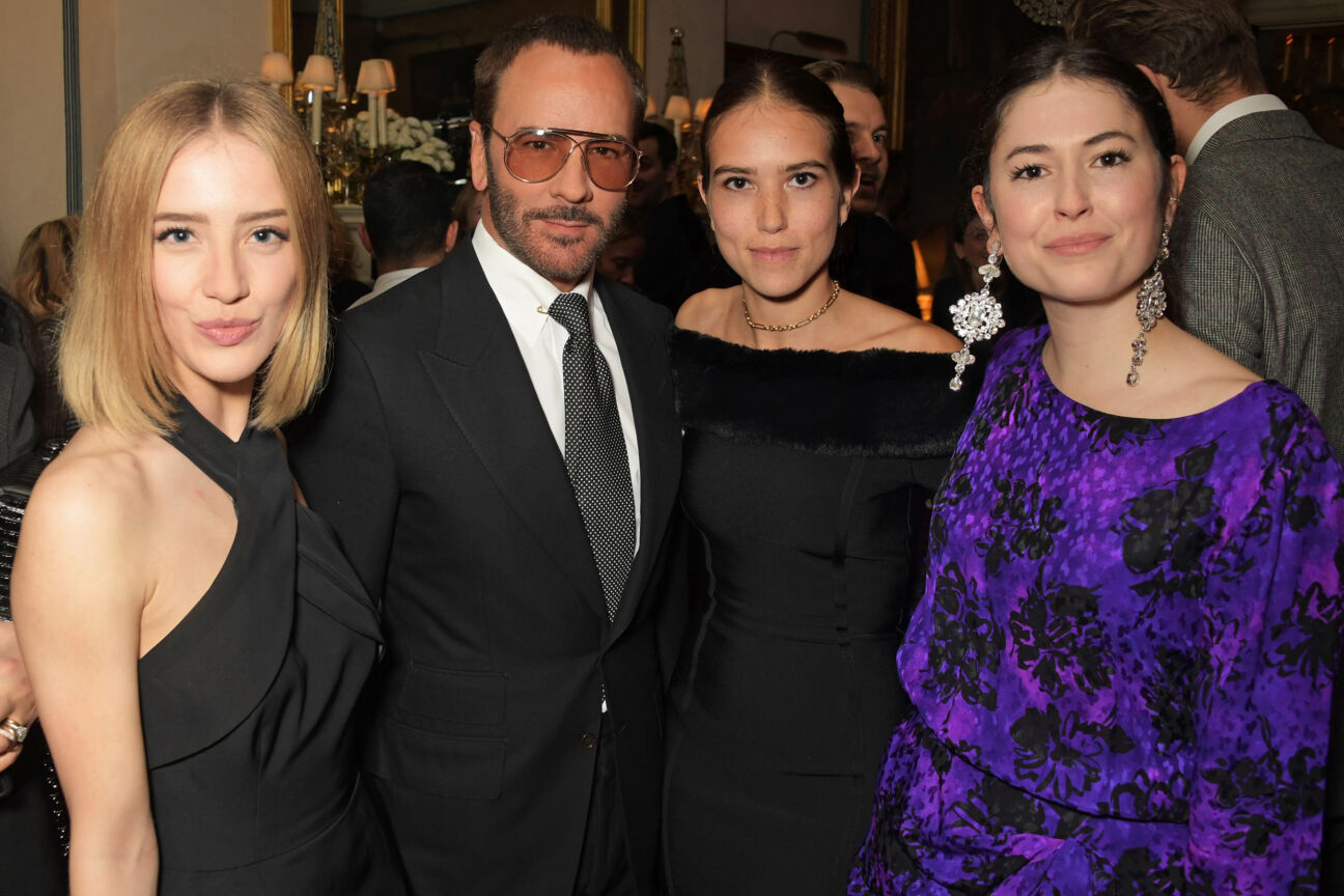 Sarah Mikaela, Tom Ford, Natalia Salmon and Lily Worcester